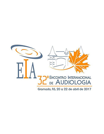 32º Encontro Internacional de Audiologia