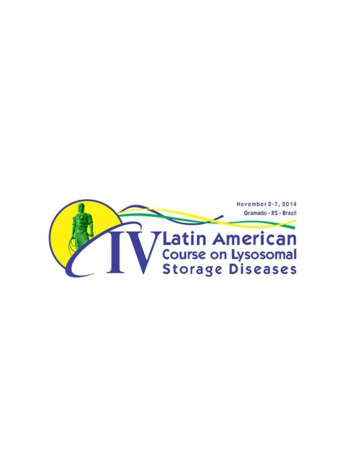 Logo do 4˚ Latin American Course on Lysosomal Storage Diseases