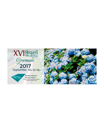 XVI Brazilian MRS Meeting  - SBPMat